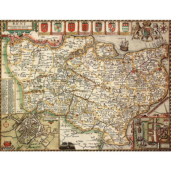 HISTORICAL MAP KENT (M4JHIST400) Image