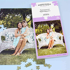 CREATE YOUR OWN PHOTO JIGSAW - 200 PC PORTRAIT