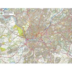 BRISTOL CITY MAP