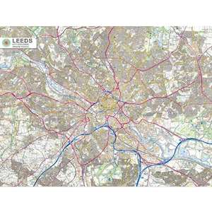LEEDS CITY MAP