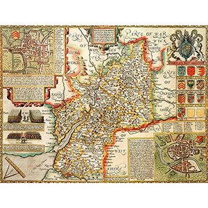 HISTORICAL MAP GLOUCESTERSHIRE (M4JHIST400)