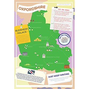 I LOVE MY COUNTY OXFORDSHIRE 400 PIECE