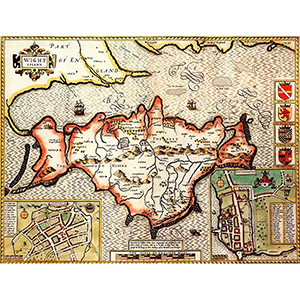 HISTORICAL MAP ISLE OF WIGHT (M4JHIST400)