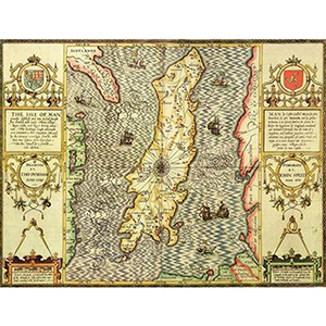 HISTORICAL MAP ISLE OF MAN (M4JHIST400)