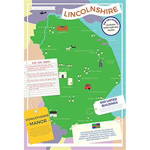 I LOVE MY COUNTY LINCOLNSHIRE 400 PIECE