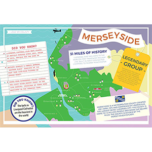 I LOVE MY COUNTY MERSEYSIDE 400 PIECE
